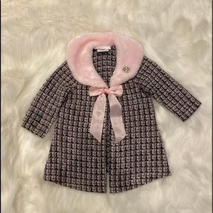 Bonnie Baby Girls Coat for 12 month old